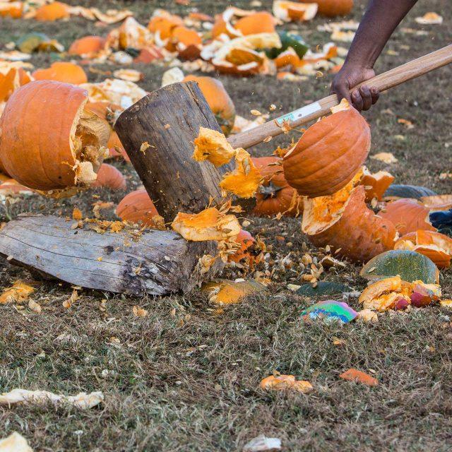 National Pumpkin Destruction Day at The Rock Ranch