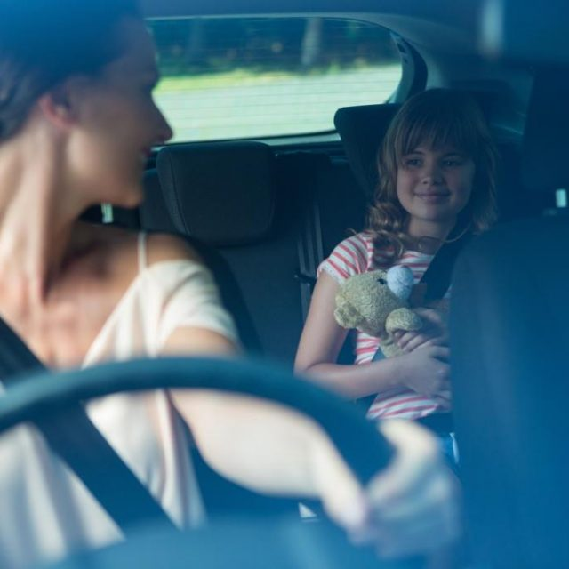 Distracted Driving as a Parent