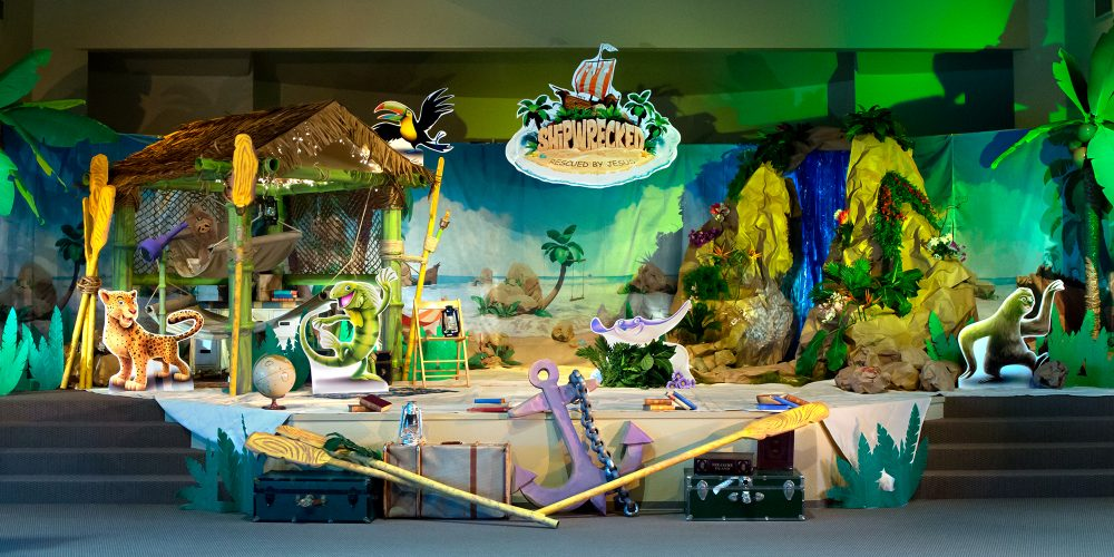 River of Life Church: Shipwrecked Vacation Bible School