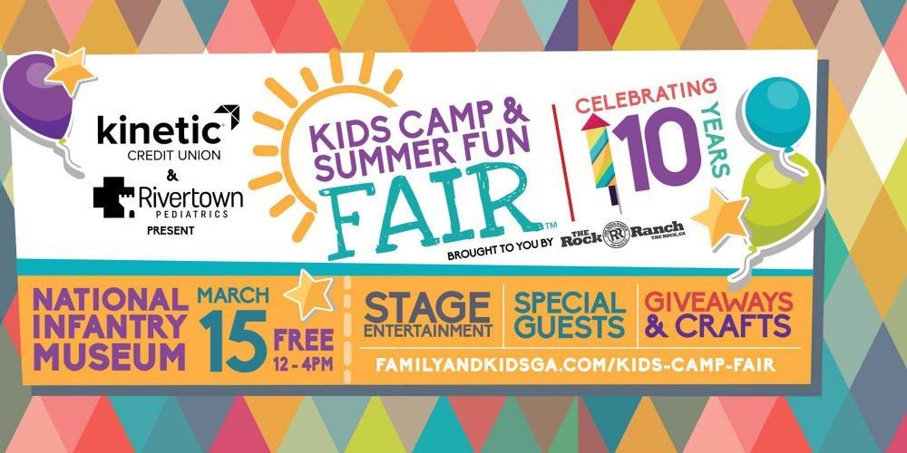 10th Annual Kids Camp & Summer Fun Fair