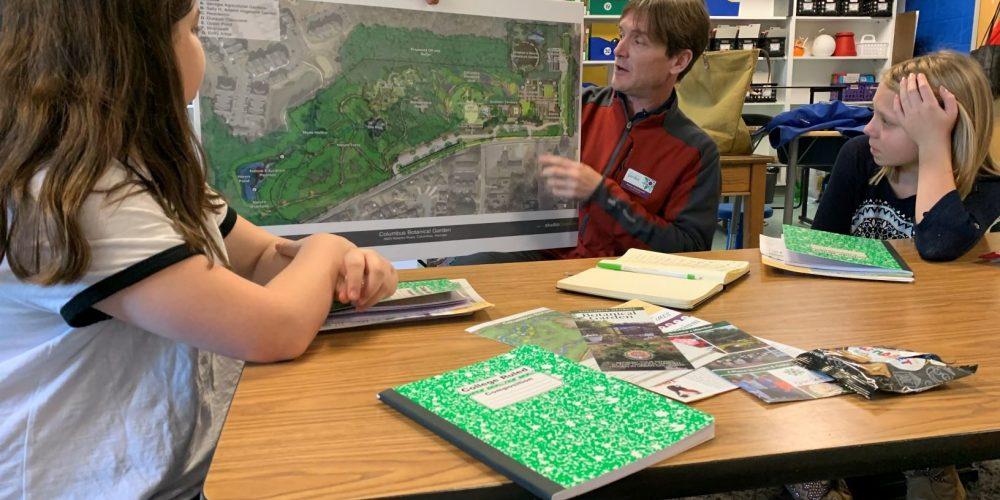 Fieldwork – Columbus Botanical Gardens and Blanchard Elementary Collaboration