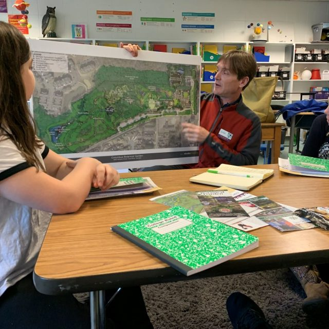 Fieldwork – Columbus Botanical Gardens and Blanchard Elementary Collaboration